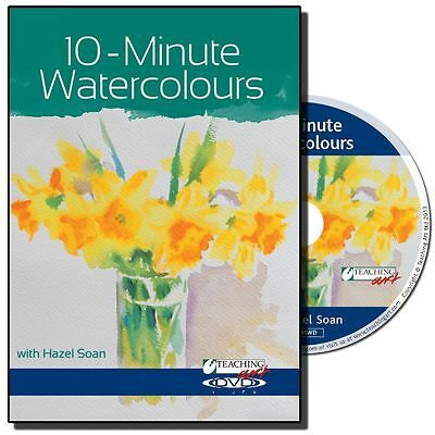 DVD - 10-minute Watercolours with Hazel Soan