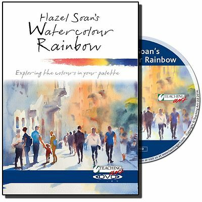 DVD - Watercolour Rainbow with Hazel Soan