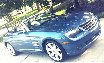 2005 Chrysler Crossfire Convertible, Limited Chrysler Crossfire Convertible, Limited Roadster, FINAL AUCTION, Excellent Cond