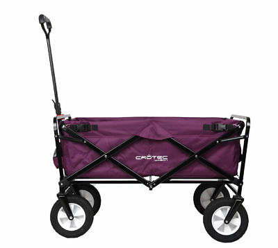 Original Crotec Folding Wagon | Garden | Shopping | Sports | Beach | Camping