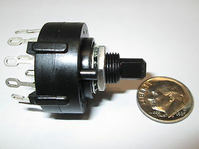 2 Pole -- 6 Position,  Non Shorting, Rotary Switch   1 Pcs.  Nos