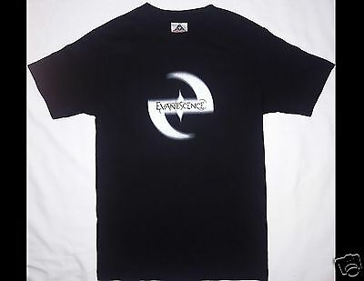 EVANESCENCE Size Small Black T-Shirt