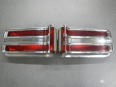 1965 Buick LeSabre Tail Lights Complete Taillight & Wildcat with modification 65