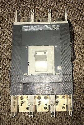 ABB SACE S7 S7H-D 1200A Molded Case Switch Breaker 600V 3 Pole 1200A (see descr)