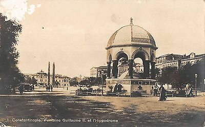 BF8735 constantinople turkey fontaine guillaume II et l hippodr    Turkey