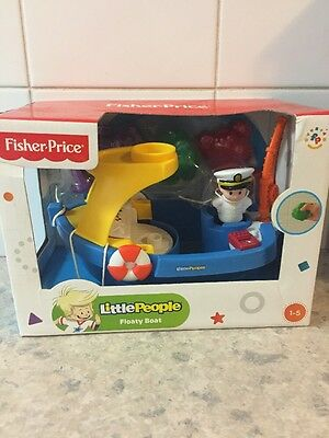 Fisher Price Little People Floaty Boat New And Sealed