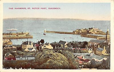 BR95691 the harbour st peter port guernsey   uk