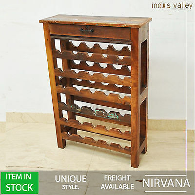 NIRVANA home bar high table wine rack stand winerack drink cabinet console hall