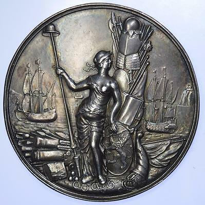 Netherlands - 1668 Peace of Aix-la-Chapelle silver medal