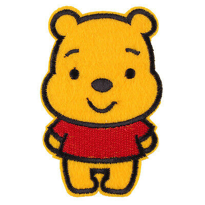 """The Winnie the Pooh Bear Embroidered Iron/Sew ON Patch Sew Applique 2.3""""X 3.5"""""""