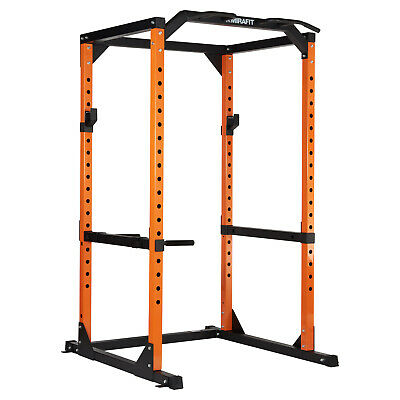 Mirafit M2 Power Cage Squat Rack/Pull Up/Dip Bar Weight Lifting Multi Gym Frame
