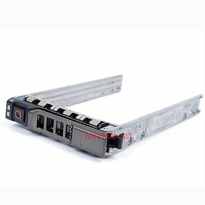 """2.5"""" HDD SAS SATA Hard Drive Tray Caddy For Dell PowerEdge T420 T320 T620 T710"""