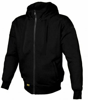 Booster Ladies Motorcycle DUpont Kevlar Hoodie CE App Armour Removable Hood BLK