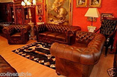 Chesterfield Heritage De Luxe Pull Up Aniline Vintage Chestnut E400