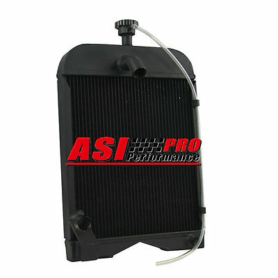 3 ROW Tractor Radiator For Ford 8N8005 2N 8N 9N +Free Cap PRO AU