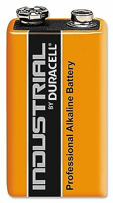 1 x Duracell oem 9V Batteries  MN1604 6LR61 PP3 Battery