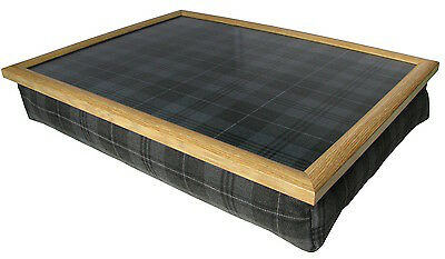 Choice of 20+ Premium Lap Trays with Bean Bag Cusions in Tweed & Tartan