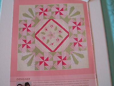 Tiny Treasures Applique Quilt Pattern from Magazine  Child's Bed Sized