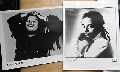 2 x Maxi Priest promo photos