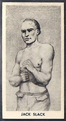 Cartledge-Famous Prize Fighters Boxing (Matt White Print)-#02- Jack Slack