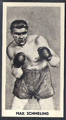 Cartledge-Famous Prize Fighters Boxing (Matt White Print)-#29- Max Schmelling