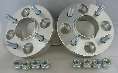 4x108 25mm ALLOY Hubcentric Wheel Spacers Ford Fiesta MK3 MK4 MK5 MK6 MK7 1 Pair