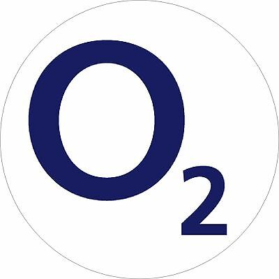 O2 Mobile Phone Network Stickers, 12mm Vinyl Label x98