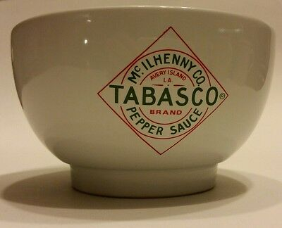 Collectible Mc Ilhenny Co. Tabasco Pepper Sauce Bowl w/Red Cayenne Peppers image