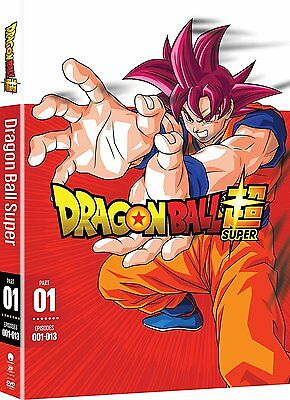Dragon Ball Z Super: Anime Series Complete Part 1 Episodes 1-13 Box/DVD Set NEW!