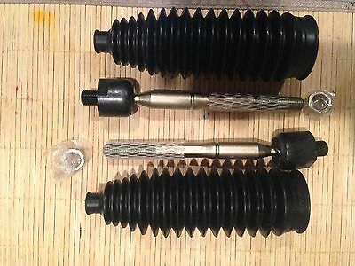 6 Pc New Steering Front Outer Inner Tie Rod Ends Rack /& Pinion Bellow Boots Kit for Ford Explorer /& Mercury Mountaineer