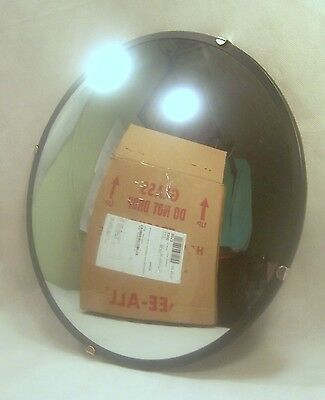 """See All Convex Safety Mirror w/Hardware- 12 1/2"""" D SKU 43"""