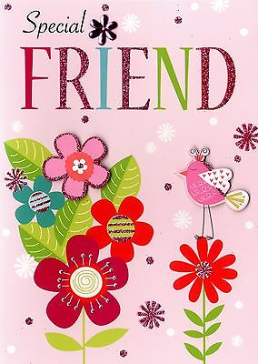 Special Friend Birthday Greeting Card Second Nature Yours Truly Cards
