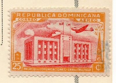 Dominican Republic 1945 Early Issue Fine Used 25c. 168455
