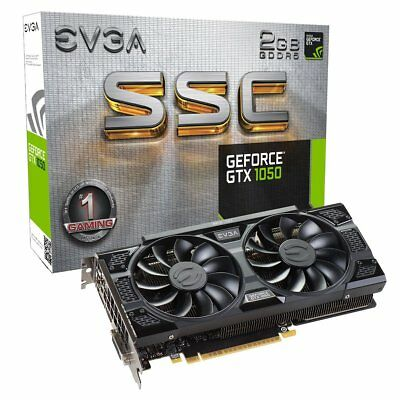 EVGA GeForce GTX 1050 SSC GAMING ACX 3.0, 2GB GDDR5, DX12 OSD Support (PXOC) Gra