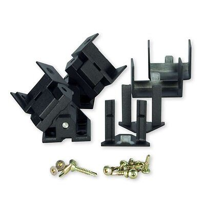 Trex Signature Aluminum Compound Swivel Bracket - 1 Set - Black