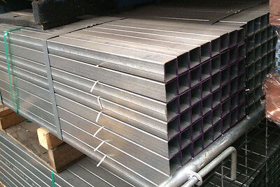 Fence Posts - Galvanised 50mm x 50mm x 2mm - 2.4m long