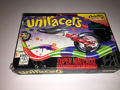 Uniracers (Super Nintendo Entertainment System, 1994) SNES (BOX ONLY)