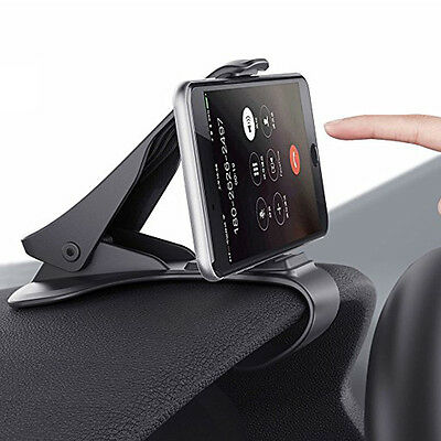 new style ae183 af4e8 CAR HUD DASH Mount Holder Stand Bracket For iPhone 7 Plus & ALL Mobile  Phone GPS