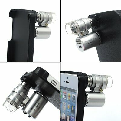 60X Optical Zoom Mobile Phone Microscope Lens Magnifying Lens for iPhone 6 Plus