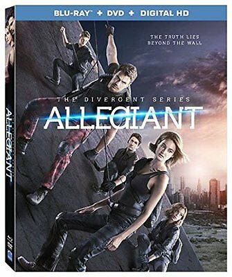 The Divergent Series: Allegiant [Blu-ray + DVD + Digital HD] New, Free shipping