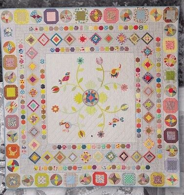 Happy Birds - pieced & applique quilt PATTERN - Jen Kingwell
