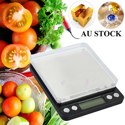 NEW 500g 0.01 DIGITAL POCKET SCALES JEWELLERY ELECTRONIC LCD Display Back-light