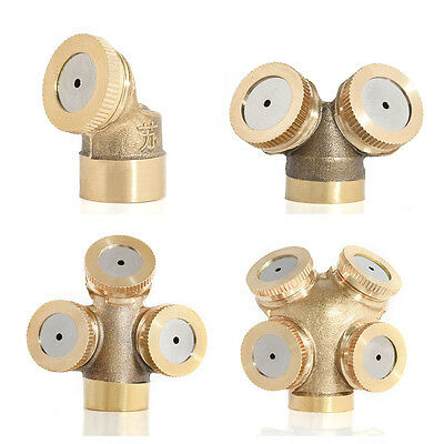 Spray Misting Hole Nozzle Sprinkler Head Garden Watering Farm Irrigation System