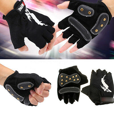 Skates Roller Skating Cycling Fitness Training Half Finger Glove Protective Gear