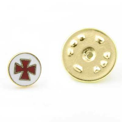 Knights Templar Masonic Lapel Pin (or Masonic Badge)