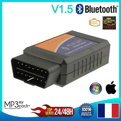 INTERFACE ELM 327 V1.5 Bluetooth  Diagnostic Automobile Scanner Torque Android