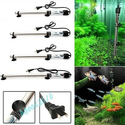 100W 200W 300W 500W Submersible Stainless Steel Water Heater Aquarium Fish Tank