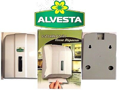 NEW Alvesta C-Z Folded Tissue Dispenser Fittings Included Key Lockable Practices