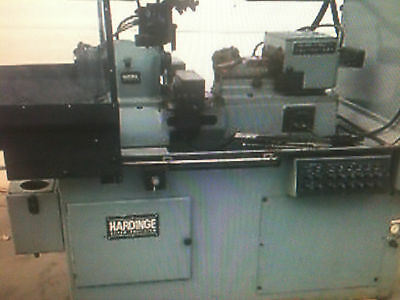 Hardinge DSM-A Turret Lathe, Screw machine,pneumatic bar feed collet closer