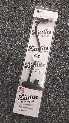 "BNIB LITTLITE L-3/12A 12"" Halogen Bulb Fixed Mount Gooseneck Lamp w Dimmer"